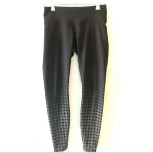 Lululemon Wunder Under Ombré Houndstooth Leggings